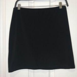 Sympli Black Mini Skirt Size 8